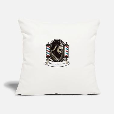 "Gent A.j gents parlour - Throw Pillow Cover 18"" x 18"""