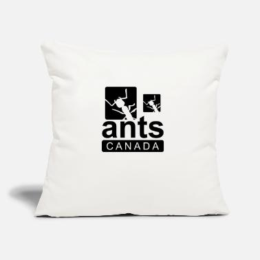 "Ants canada - Throw Pillow Cover 18"" x 18"""