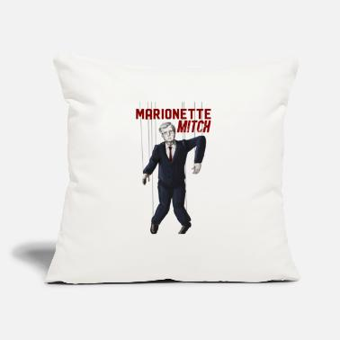 "Marionette Mitch - Throw Pillow Cover 18"" x 18"""