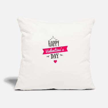 "Valentine's Day Valentines day - Throw Pillow Cover 18"" x 18"""