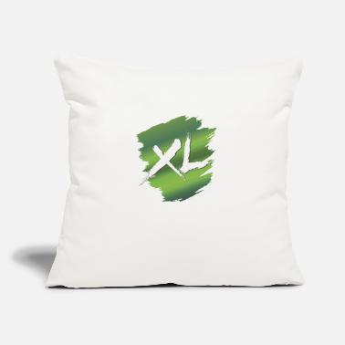 "Large Extra Large - Throw Pillow Cover 18"" x 18"""
