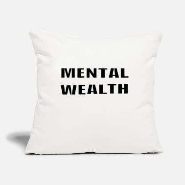 Wealth Mental Wealth - Throw Pillow Cover