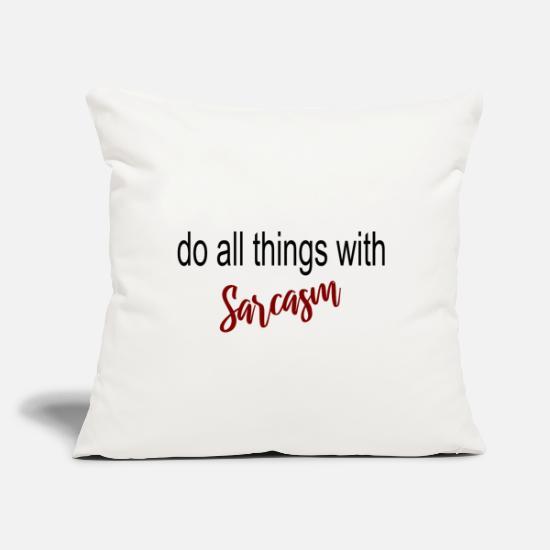 Funny Pillow Throw Pillow Pillow Sh*t White Pillow White Pillow Sarcastic Pillow 18 x 18 Pillow