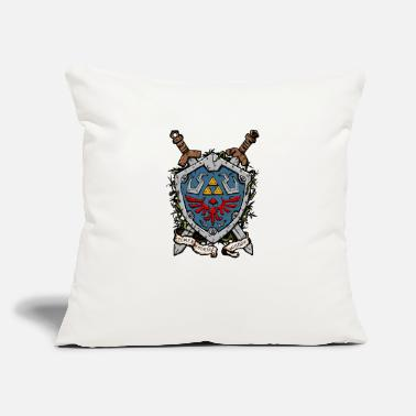 "Shield The Shield - Throw Pillow Cover 18"" x 18"""