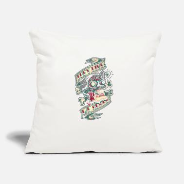 "Lively They Live - Throw Pillow Cover 18"" x 18"""