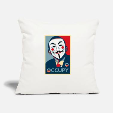 Occupy Anonymous occupy - Throw Pillow Cover