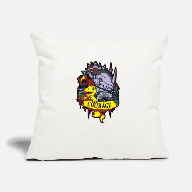 "Digital Digital courage - Throw Pillow Cover 18"" x 18"""