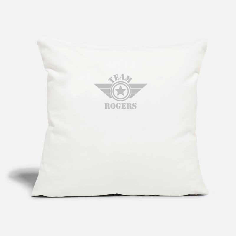 "Man Pillow Cases - Iron Man Team Rogers - Throw Pillow Cover 18"" x 18"" natural white"