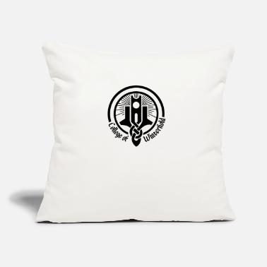 "College College of - Throw Pillow Cover 18"" x 18"""