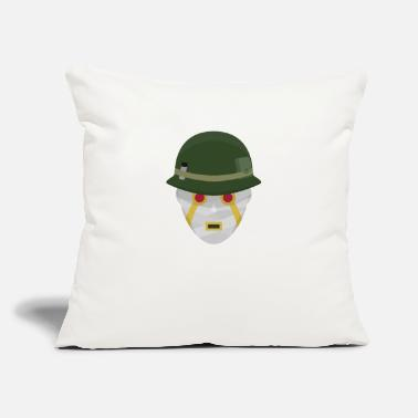 "Terrible Terrible Soldiers - Throw Pillow Cover 18"" x 18"""