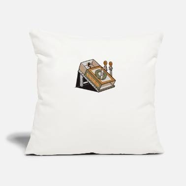 "Rest In Peace REST IN PEACE - Throw Pillow Cover 18"" x 18"""