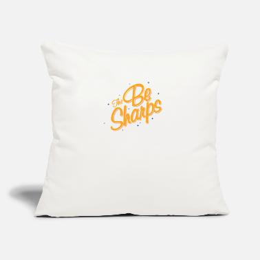 "Sharp The Be Sharps - Throw Pillow Cover 18"" x 18"""