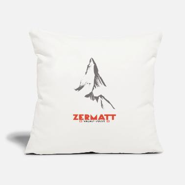 "Zermatt Zermatt, Valais, Switzerland - Throw Pillow Cover 18"" x 18"""