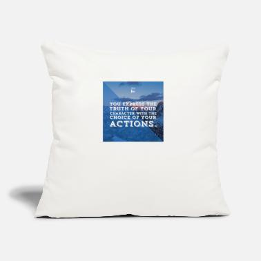 Quote Quote - Throw Pillow Cover