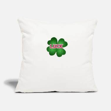 Luck luck - Throw Pillow Cover