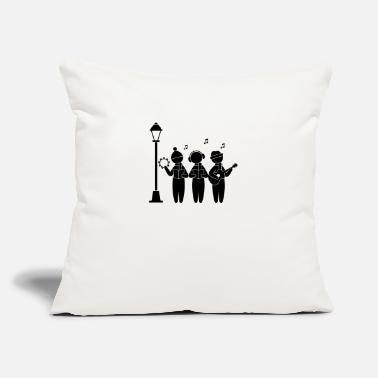 "Christmas Singing Choir Singing Christmas - Throw Pillow Cover 18"" x 18"""