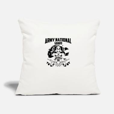 "Army National Guard Army National Guard shi - Throw Pillow Cover 18"" x 18"""