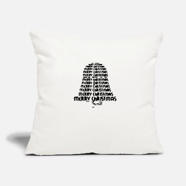 "Bell bell bell of jingle - Throw Pillow Cover 18"" x 18"""