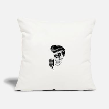 "Rockabilly Rockabilly - Throw Pillow Cover 18"" x 18"""