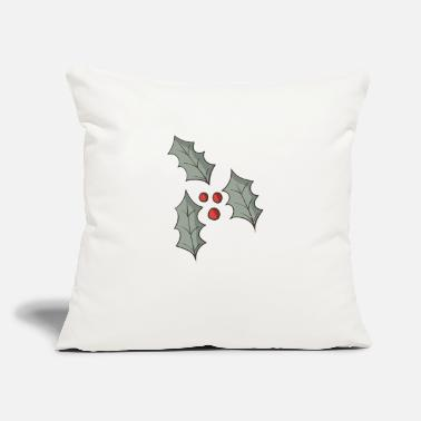 "Holly holly - Throw Pillow Cover 18"" x 18"""