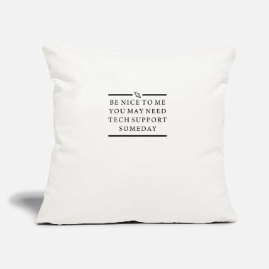 "Computer Geek COMPUTER GEEK SMART - Throw Pillow Cover 18"" x 18"""