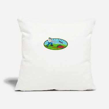 Landscape Landscaping - Throw Pillow Cover