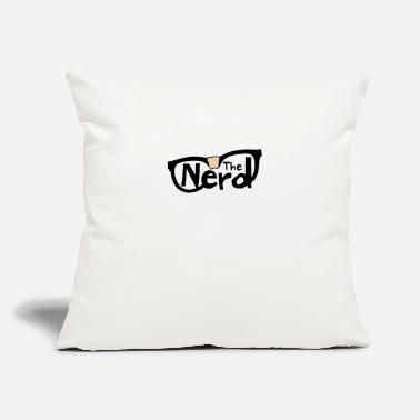 "The Nerd - Throw Pillow Cover 18"" x 18"""