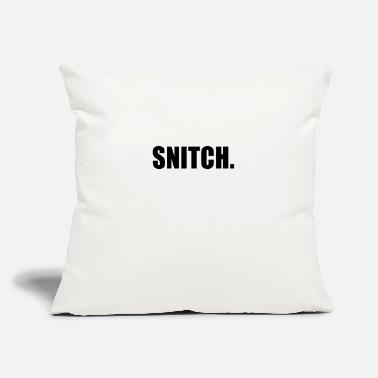 "Snitches SNITCH - Throw Pillow Cover 18"" x 18"""