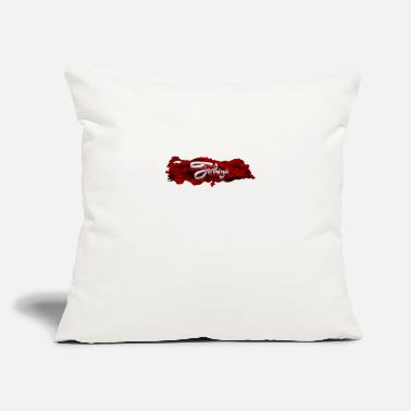"Türkiye I love Turkey - Türkiye - Throw Pillow Cover 18"" x 18"""