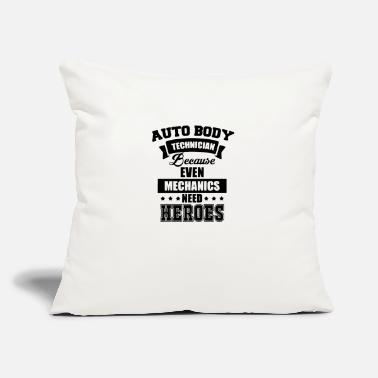 "Technician Auto Body Technician - Throw Pillow Cover 18"" x 18"""