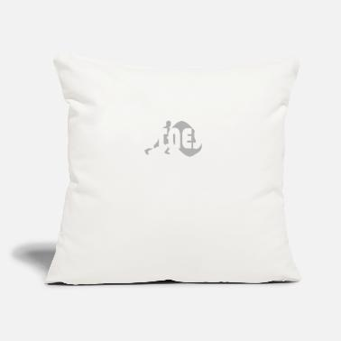 "Workout Workout - Throw Pillow Cover 18"" x 18"""