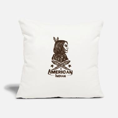 American Indian American Indian - Throw Pillow Cover