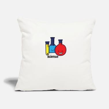 "Test Tube Test Tubes - Throw Pillow Cover 18"" x 18"""