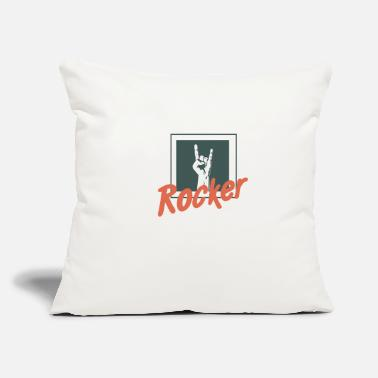 "Rocker Rocker - Throw Pillow Cover 18"" x 18"""