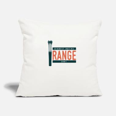 "Range Highest Rating Range Shot - Throw Pillow Cover 18"" x 18"""