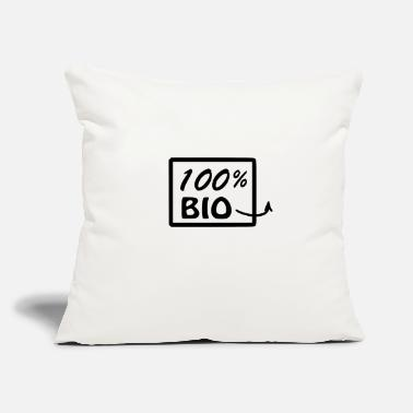 "Bio BIO - Throw Pillow Cover 18"" x 18"""