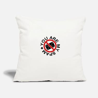 "Spam you are my spam - Throw Pillow Cover 18"" x 18"""