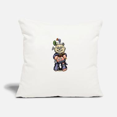 "68 22c 68 - Throw Pillow Cover 18"" x 18"""