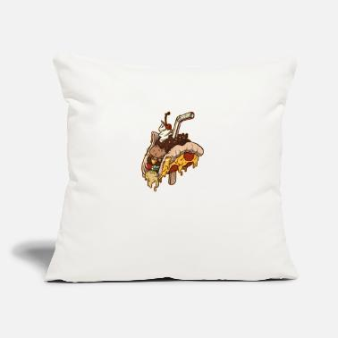"Cuisine JONQUE CUISIN - Throw Pillow Cover 18"" x 18"""