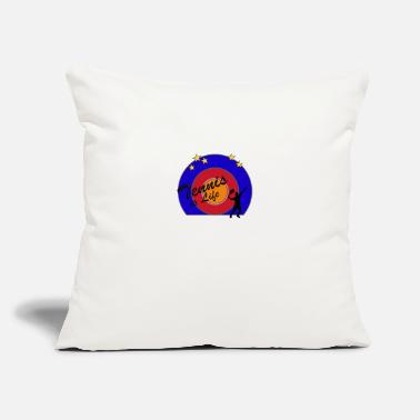 "Tennis Is Life Tennis is Life - Throw Pillow Cover 18"" x 18"""