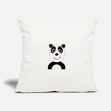 "Hemp Stoned Panda 420 - Throw Pillow Cover 18"" x 18"""