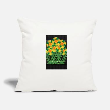 Bloom Sunflower bloom - Throw Pillow Cover