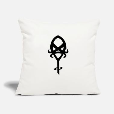 "Insight Rune of Insight - Throw Pillow Cover 18"" x 18"""