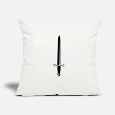 "Sword sword - Throw Pillow Cover 18"" x 18"""
