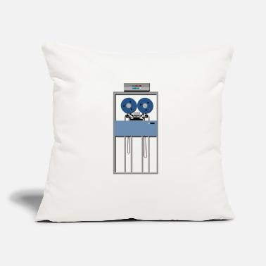 "Mainframe Computer Operator Mainframe Tape Drive - Throw Pillow Cover 18"" x 18"""