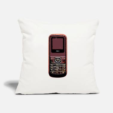 "Mobile Phone vintage phone mobile - Throw Pillow Cover 18"" x 18"""