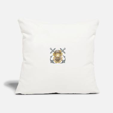 "Miscellaneous Miscellaneous cross anchors - Throw Pillow Cover 18"" x 18"""