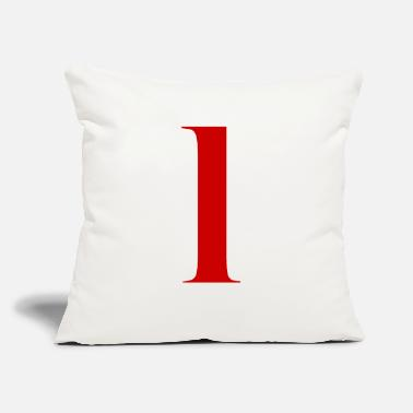 "Number 1 - Throw Pillow Cover 18"" x 18"""