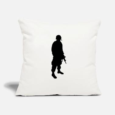"Grenadier Army Soldier - Throw Pillow Cover 18"" x 18"""