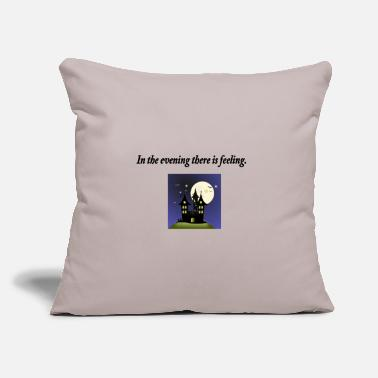 "Evening Evening - Throw Pillow Cover 18"" x 18"""
